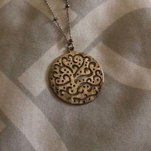 Silpada silver necklace